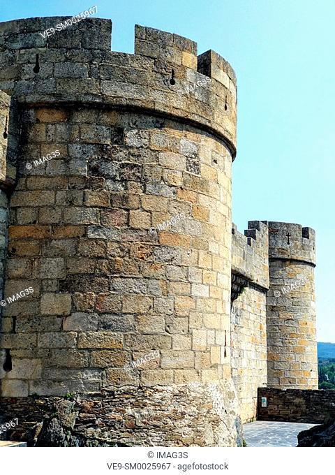 Old castle of Puebla de Sanabria, Castilla y Leon, Spain