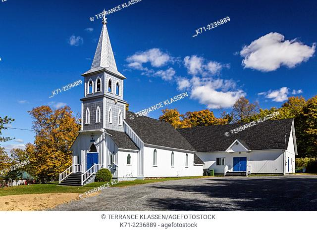 The Grace Anglican Church at Arundel, Quebec, Canada