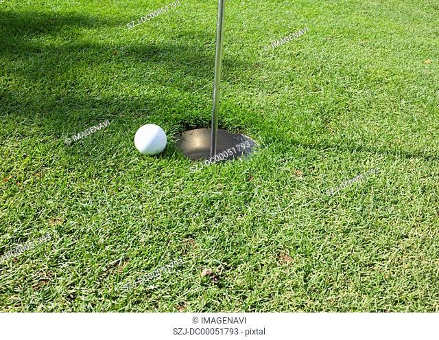 Park golf hole cup