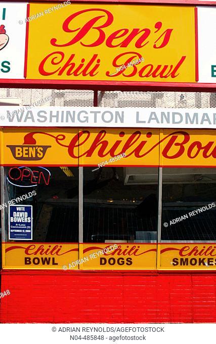 Ben's Chili Bowl. Washington D.C. USA