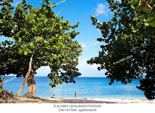 Maria la Gorda beach, Pinar del Río province, Cuba