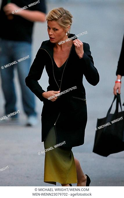 Julie Bowen seen leaving the ABC studios for Jimmy Kimmel Live Featuring: Julie Bowen Where: Los Angeles, California, United States When: 27 Oct 2015 Credit:...