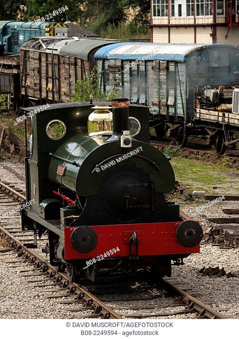 Golden Valley Light Railway, near ripley, Derbyshire, UK