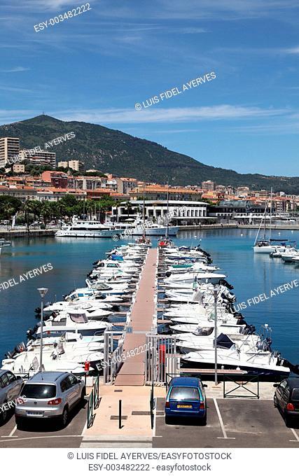 Fishing Port, Ajaccio, Corsica Island. France