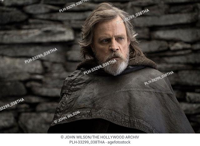 """""""Star Wars: The Last Jedi"""" (2017) Luke Skywalker (Mark Hamill) Lucasfilm Ltd"