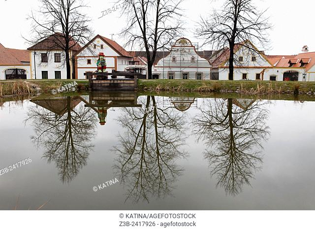 Holašovice Historical Village Reservation. Holašovice is an exceptionally complete and well-preserved example of a traditional central European village