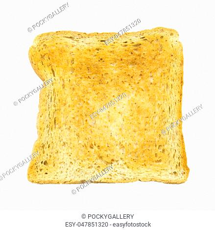 Single Slice Of Bread Stock Photos And Images Age Fotostock