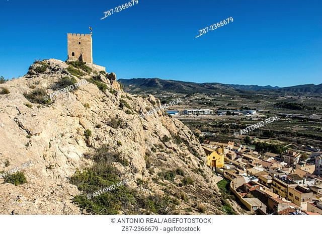 Castle of Sax, Sax, Valle del Vinalopó, Alicante province, Comunidad Valenciana, Spain