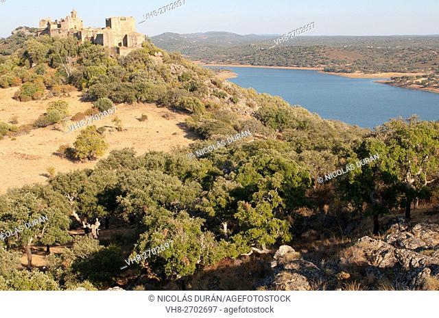 Azagala Castle. Alburquerque. Province of Badajoz. Estremadura. Spain