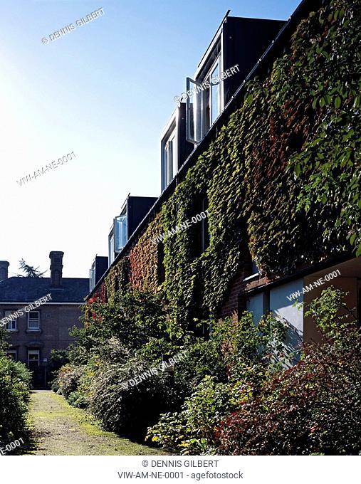 ROSALIND FRANKLIN BUILDING - NEWNHAM COLLEGE CAMBRIDGE, CAMBRIDGE, UNITED KINGDOM, Architect ALLIES AND MORRISON, 1995