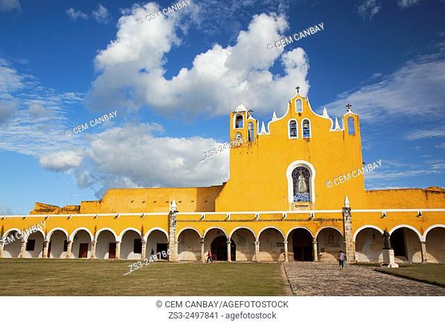 Monastery-Convent Of San Antonio De Padua, Izamal, Yucatan, Yucatan Province, Mexico, North America
