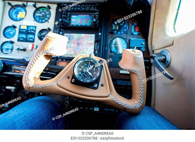 Control yoke instrument Stock Photos and Images | age fotostock