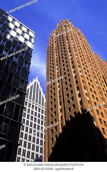 USA, MICHIGAN, DETROIT, DOWNTOWN, GUARDIAN BUILDING