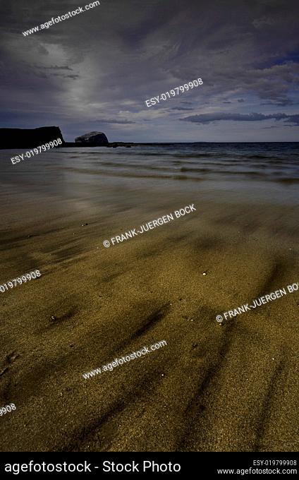 The Bass Rock from Seacliff near North Berwick