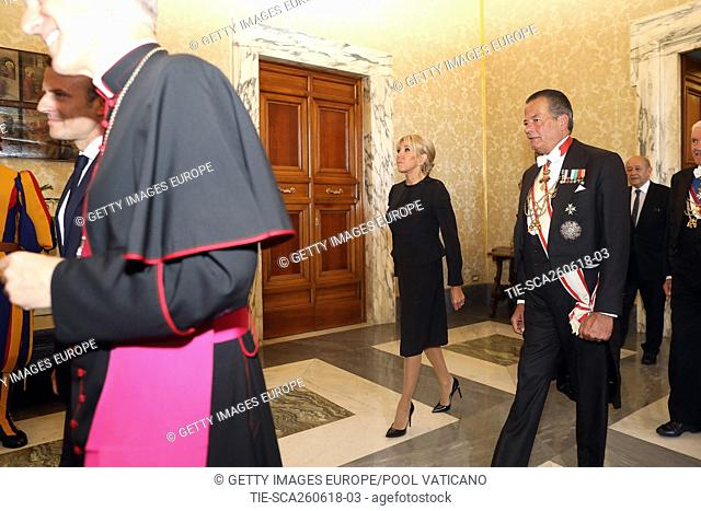 Brigitte Macron . Vatican City, Vatican 26-05-2016 **Editorial usy only**