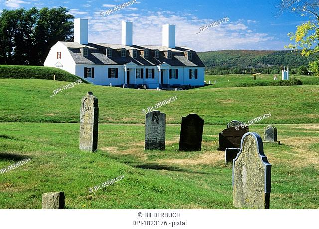Fort Anne National Historic Park, Annapolis Royal, Nova Scotia, Canada