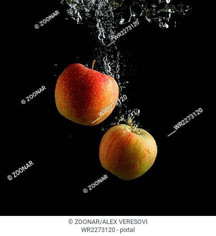 Wash apples