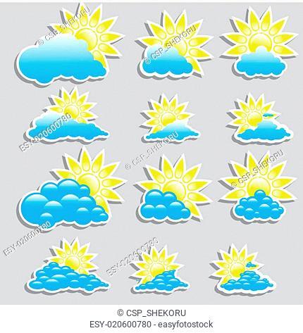 Universal icons - Set (Weather)