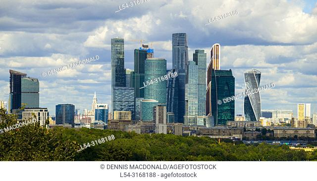 Moscow Russian Moskva city National capital of Russia