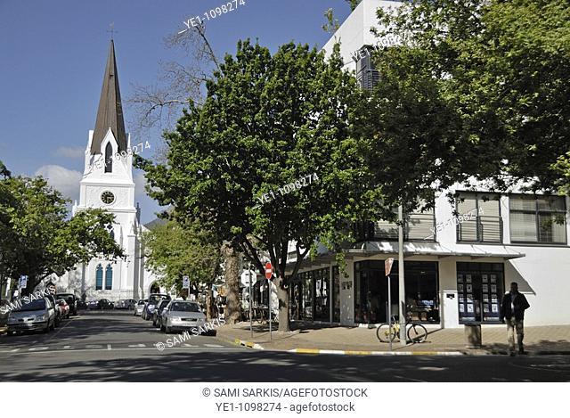 Dutch Reformed Church on Church Street, Stellenbosch, Western Cape Province, South Africa