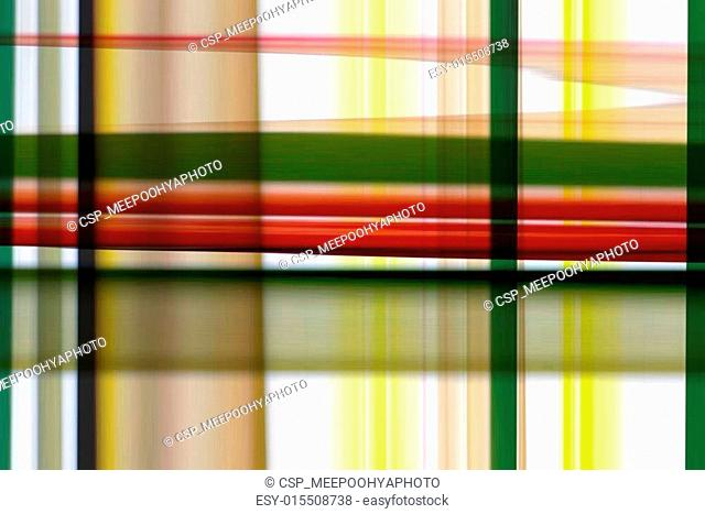 abstract colorful of plaid