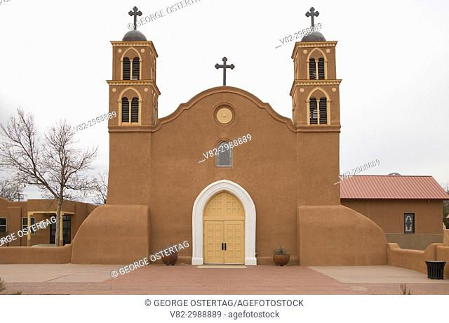 Old San Miguel Mission, Socorro, New Mexico