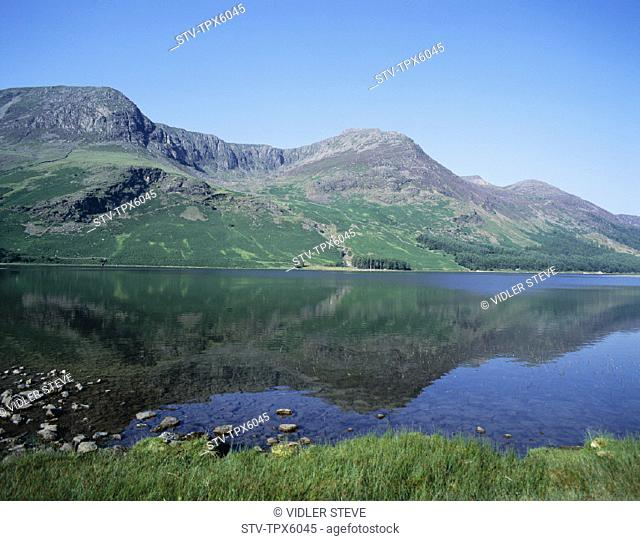 Buttermere, Cumbria, England, United Kingdom, Great Britain, Holiday, Lake, Lake district, Landmark, Tourism, Travel, Vacation