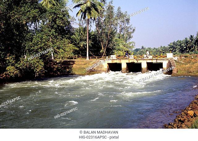 CANALS IN RAJAMUNDRY, ANDHRA PRADESH, INDIA