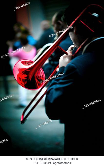 trombone music band