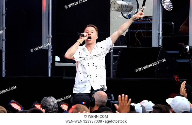 Performances on 'Jimmy Kimmel Live!' Featuring: Macklemore Where: Los Angeles, California, United States When: 18 May 2016 Credit: WENN.com