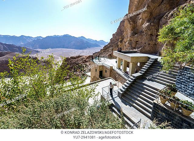 Chak Chak (also spelled as Chek Chek - english: Drip Drip) famous village in Ira, holiest place of Zoroastrianism