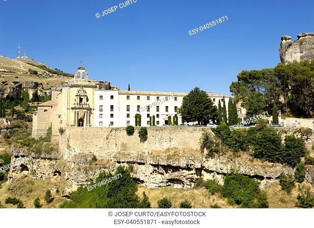 San Pablo convent, Cuenca, La Mancha, Spain