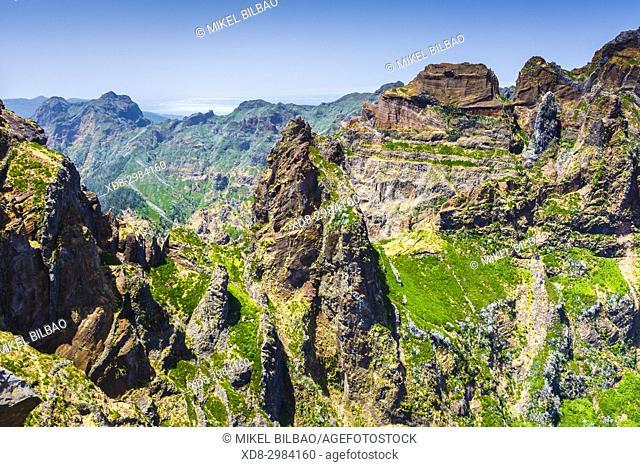 Pico do Arieiro area. Madeira, Portugal, Europe