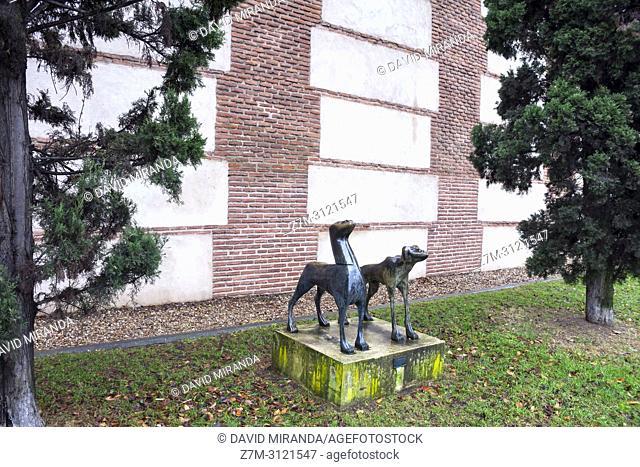 Museo de esculturas al alire libre. Alcalá de Henares. Madrid, Spain