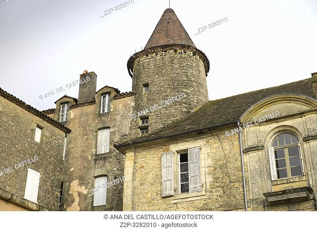 Visit the delightful medieval town of Belves. One of the most beautiful villages of France in the New Aquitaine Dordogne France
