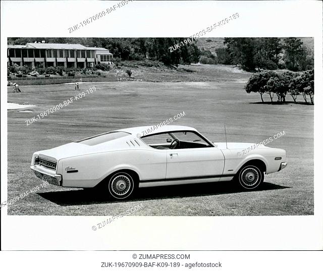 Sep. 09, 1967 - Mercury Cyclone for 1968 introduces two sporty fastback models with squared off rear design, distinctive grille and a 302-cubic-inch V-8 engine...