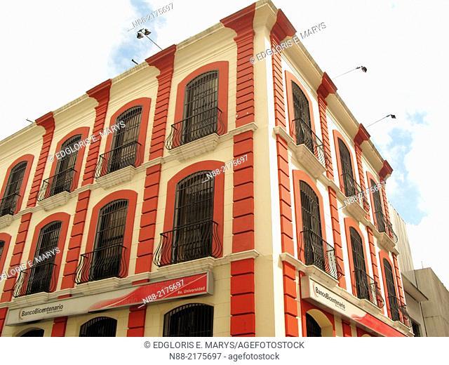 Patrimonial building Old Monastery Hotel Leon de Oro, downtown Caracas, Venezuela