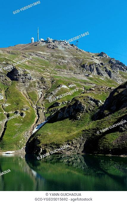 The Oncet Lake, Pic Du Midi, Hautes Pyrenees, France