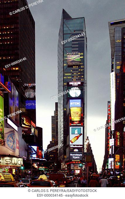 Times Square. Manhattan, New York City. USA