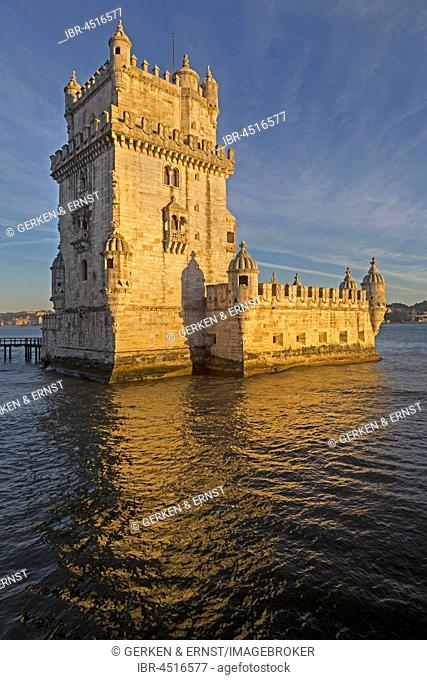 Tower of Belem, Torre de Belem, Lisbon, Portugal