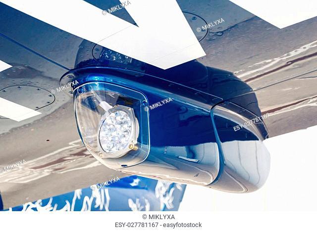 Aircraft landing lights Stock Photos and Images | age fotostock