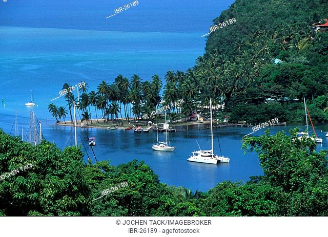 LCA, Saint Lucia: Marigot Bay