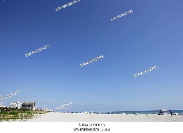 USA, Florida, View of Miami beach