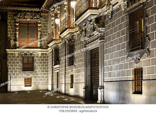 Spain, Andalusia, Granada by night