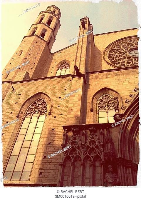 Santa Maria del Mar, Barcelona, Catalonia, Spain