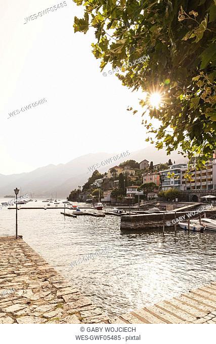 Switzerland, Ticino, Ascona, Lago Maggiore