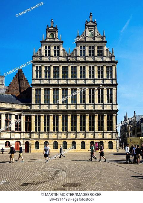 Stadthuis, Town Hall, Ghent, Flanders, Belgium