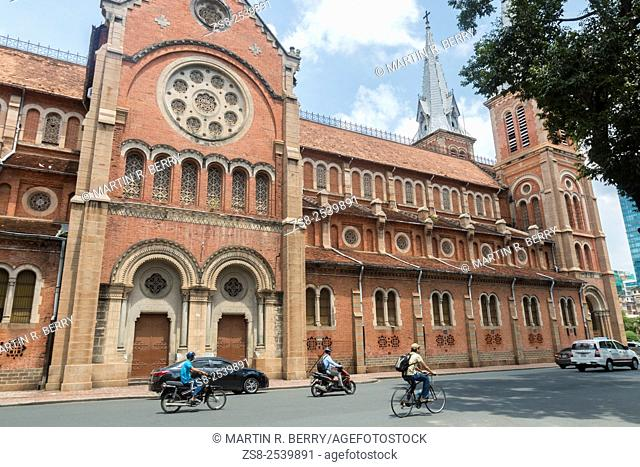 Notre Dame Cathedral Basilica in Ho Chi Minh City centre,Vietnam