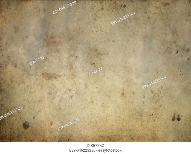 Aged paper background. Rustic and grunge paper texture for the design