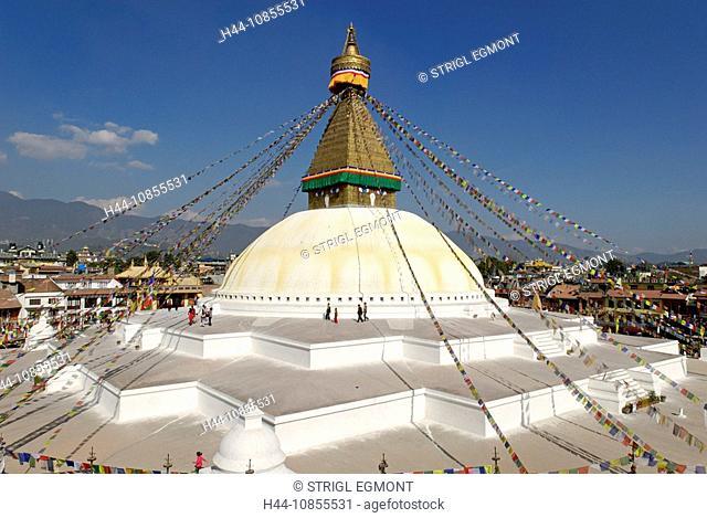 10855531, Buddhist Stupa, Bodhnath, Boudha, Katman
